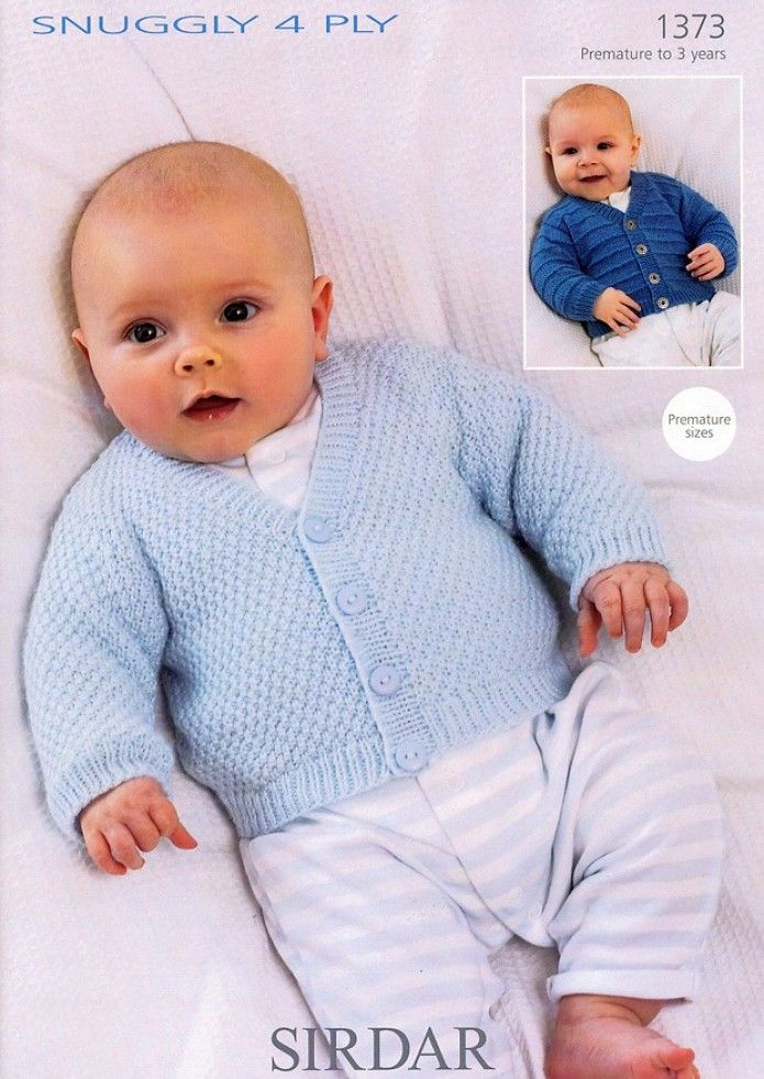 Sirdar Snuggly 4PLY Baby Knitting Pattern 1373 | Knitting | Patterns | Minerva Crafts