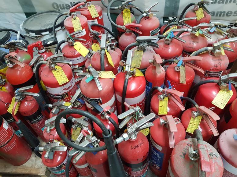 Fire extinguisher disposal fire extinguisher hazardous