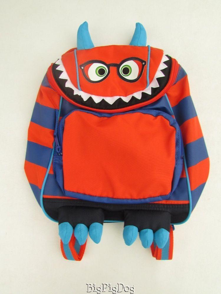 91f48d9835ba NEW Gap Toddler Monster Backpack Back to School BP1