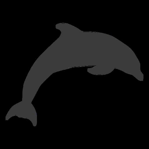 Dolphin Silhouette Animal Stencil Dolphin Silhouette Sillouette Art