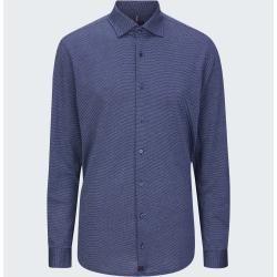 Photo of Carson shirt, dark blue patterned Strellson