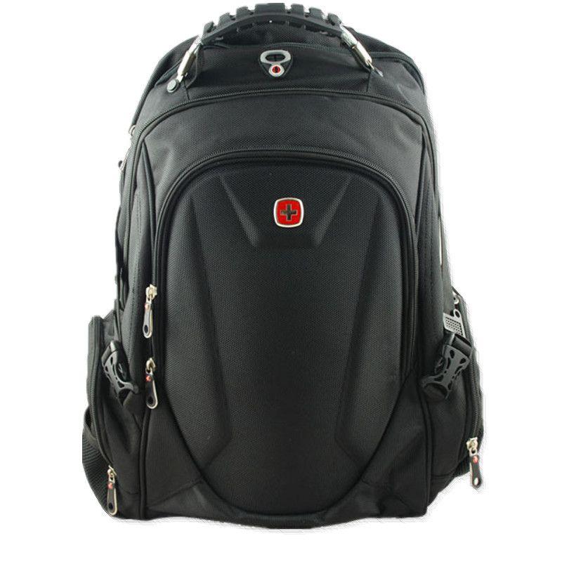 SwissGear Men Nylon laptop backpack Macbook Multifunctional Schoolbag Hiking bag