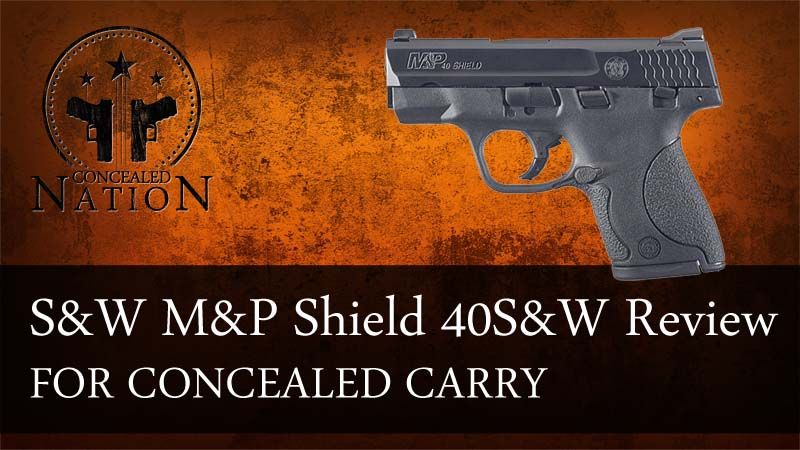 [FIREARM REVIEW] Smith & Wesson M&P Shield .40 S&W Find our speedloader now! http://www.amazon.com/shops/raeind