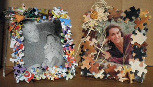 34 Amazing Puzzle Pieces Craft Ideas | Puzzle pieces, Craft and ...