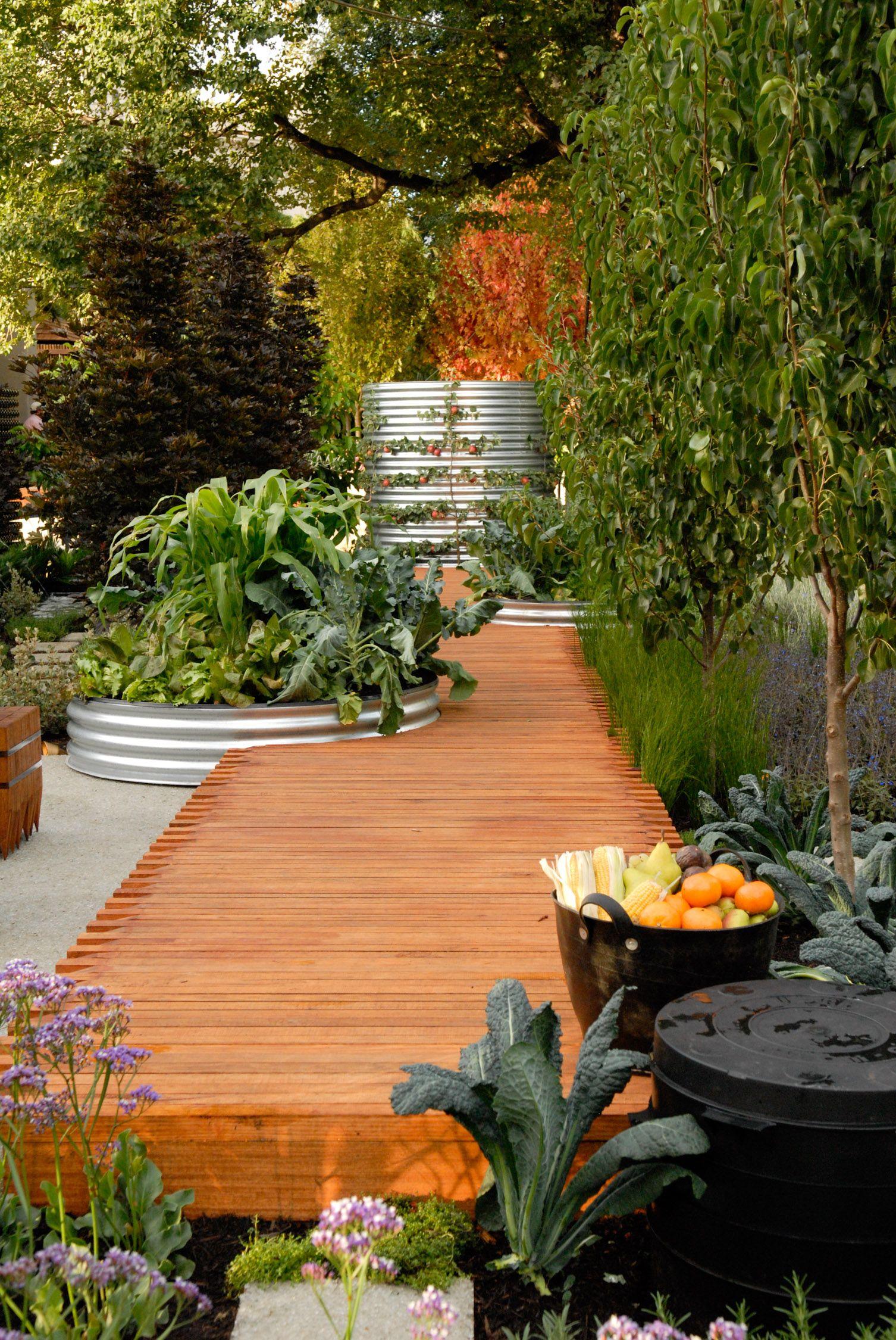 Food garden in 2020 | Landscape design, Architects ...