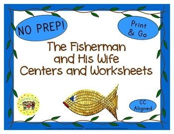The Fisherman and His Wife Activities | Word search, Center ideas ...