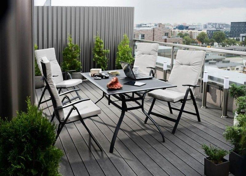 Balkonmöbel für kleinen Balkon \u2013 50 Ideen Dekoration ideeen