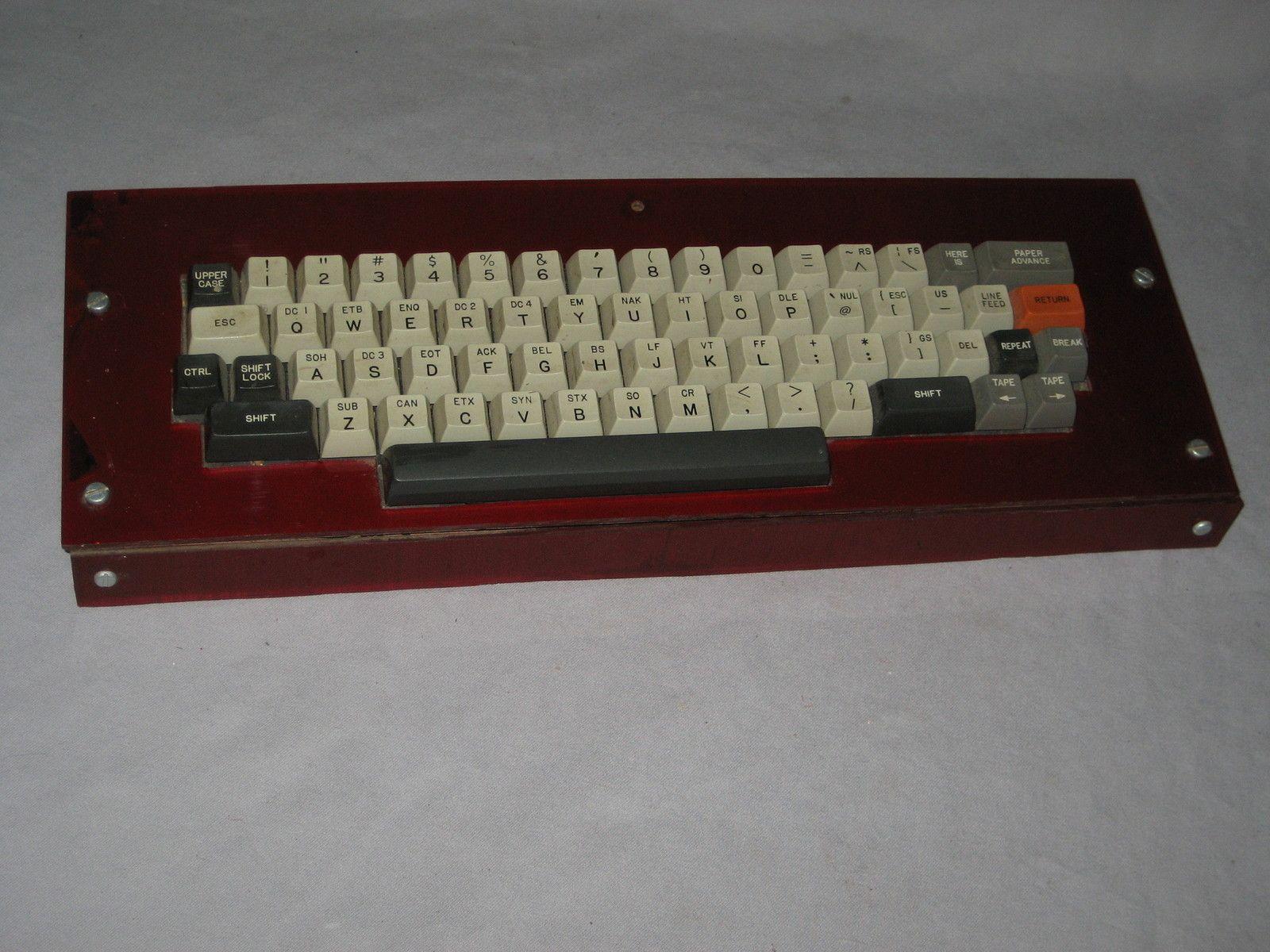 Vintage Custom Built Keyboard Circuit Board Homebrew Keyboards Electronic Home Brewing Computers