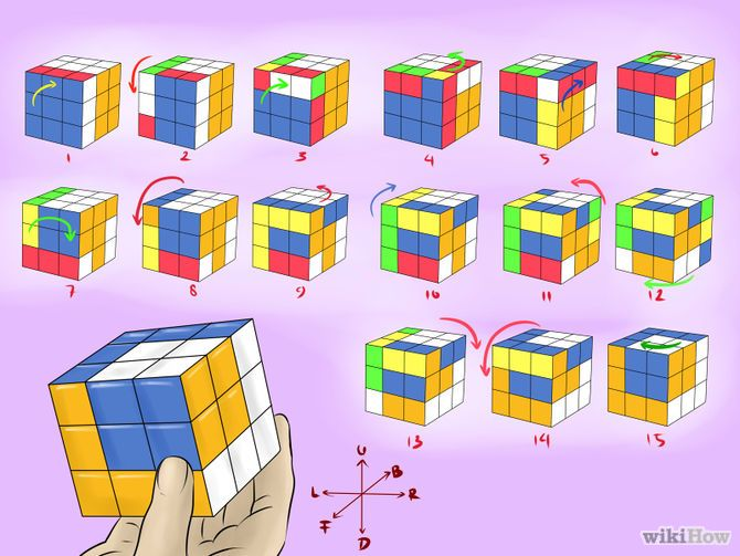 How To Make Awesome Rubik S Cube Patterns Rubiks Cube Patterns Rubiks Cube Rubicks Cube