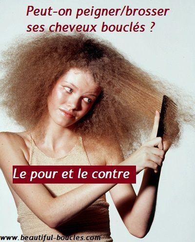 Technique de coupe de cheveux pour les cheveux bouclГ©s