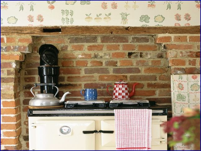 country kitchen wallpaper ideas house home pinterest kitchen