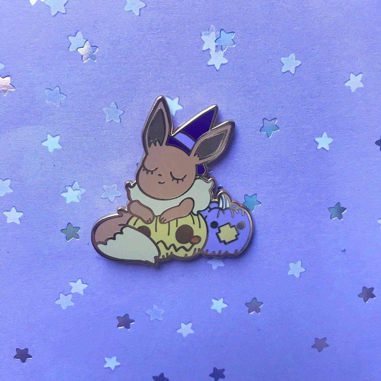Witch Pokemon Pins made by Veestoria -