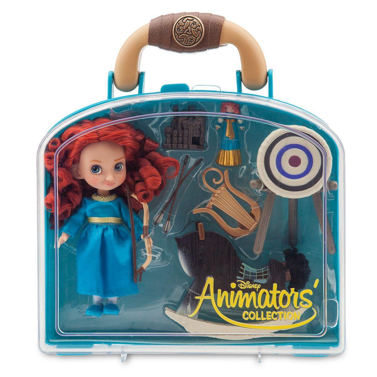 c8a8c8c453a Disney Animators  Collection Merida Mini Doll Play Set - 5 ...