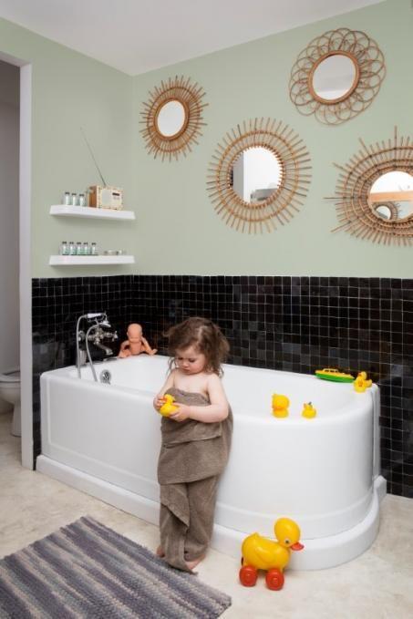 Badkamer schilderen / Paint bathroom / Salle de Bain - bathroom ...