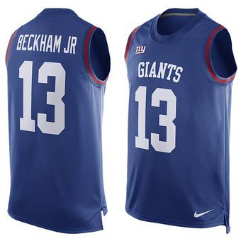 online retailer b7f5e 12e83 Nike Odell Beckham Jr. New York Giants Basketball Tank Top ...