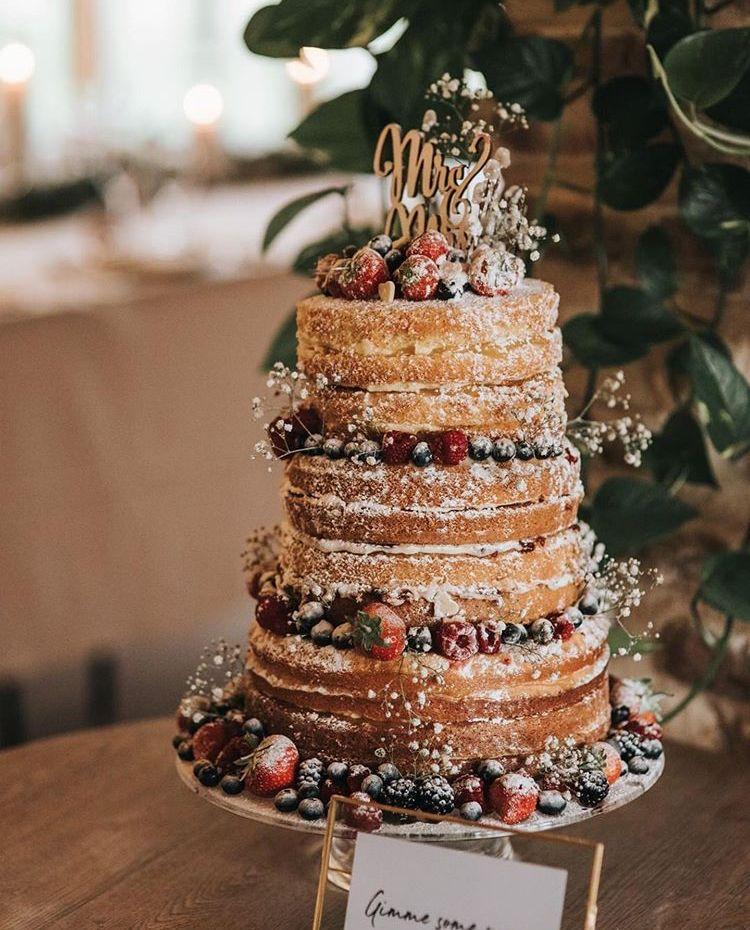 Receita de Bolo de Casamento 2 tradicional - mais a