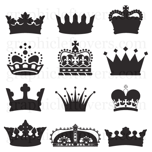 Vector Crowns Gl Stock Images Crown Tattoo Key Tattoo Designs Queen Tattoo