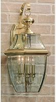 August is outdoor lighting month so Check out This Shoreham 1-Light Outdoor Wall Lantern, finished in attractive Satin Nickel, is the perfect touch to complement your home.  Nothing raises your curb appeal faster!