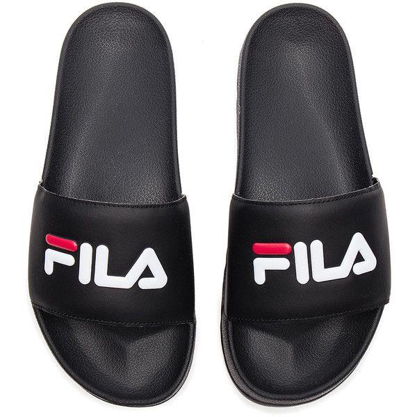 fila men s shoes. fila drifter slides ($30) ❤ liked on polyvore featuring men\u0027s fashion, shoes men s