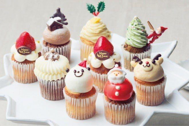 サンタパンダやトナカイがカップケーキに!フェアリーケーキフェア「クリスマスBOX」 [えん食べ] | フェアリーケーキ, クリスマス レシピ デザート, クリスマスデザート