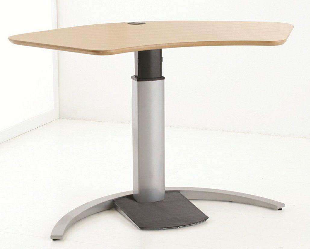 Mobiler Sitz Und Stehschreibtisch Stehschreibtisch Tisch Burotisch