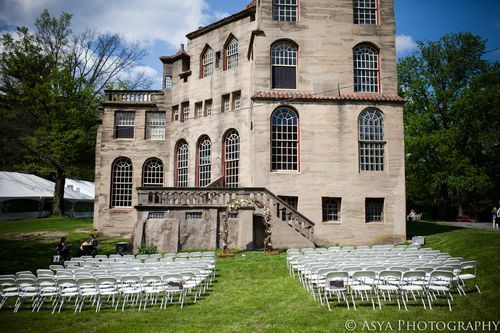 Kelly Tony Fonthill Castle Mercer Museum Wedding Asyaphotography Outdoorceremony