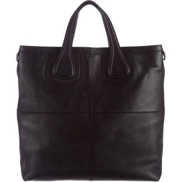 Pre-owned Givenchy Nightingale Leather Tote ( 895) ❤ liked on Polyvore  featuring men s 43823ca0e57a5