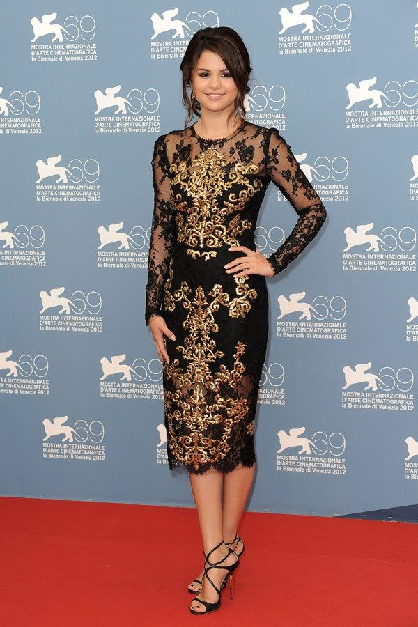 Selena Gomez at the  Venice Film Festival 2012