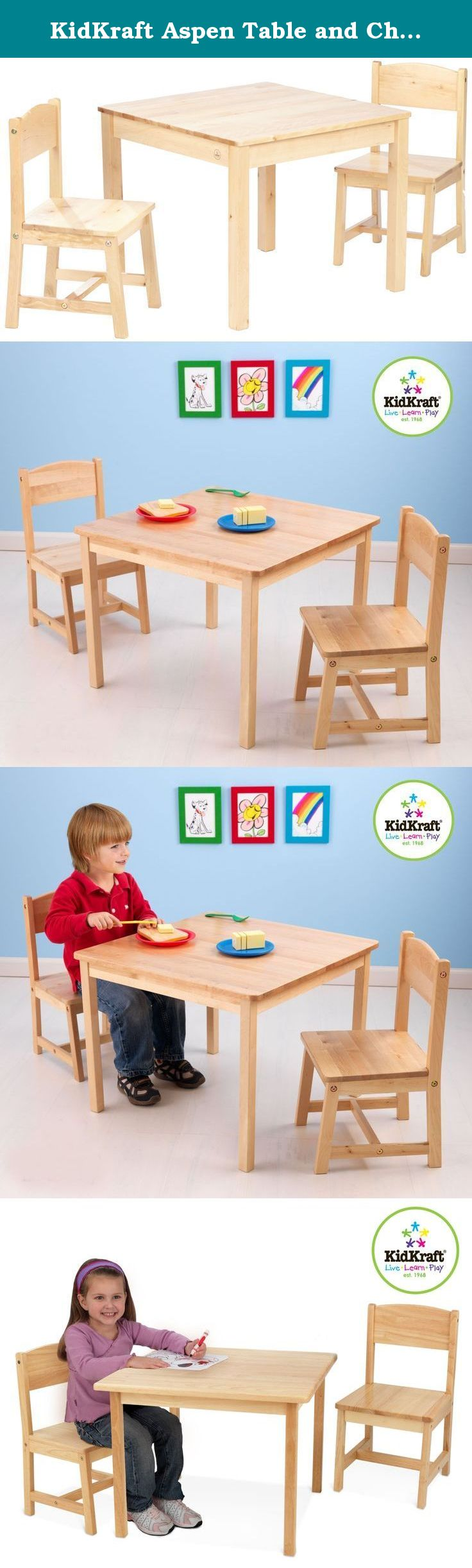 KidKraft Aspen Table and Chair Set - Natural. Every child needs ...