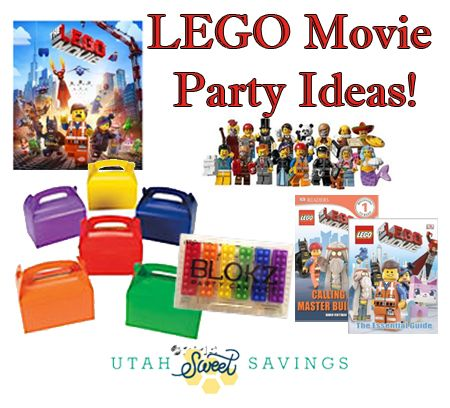 lego movie party ideas LEGO Movie Party Supplies and Gift Ideas ...