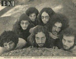 Alceu Valença e seu grupo, 1976