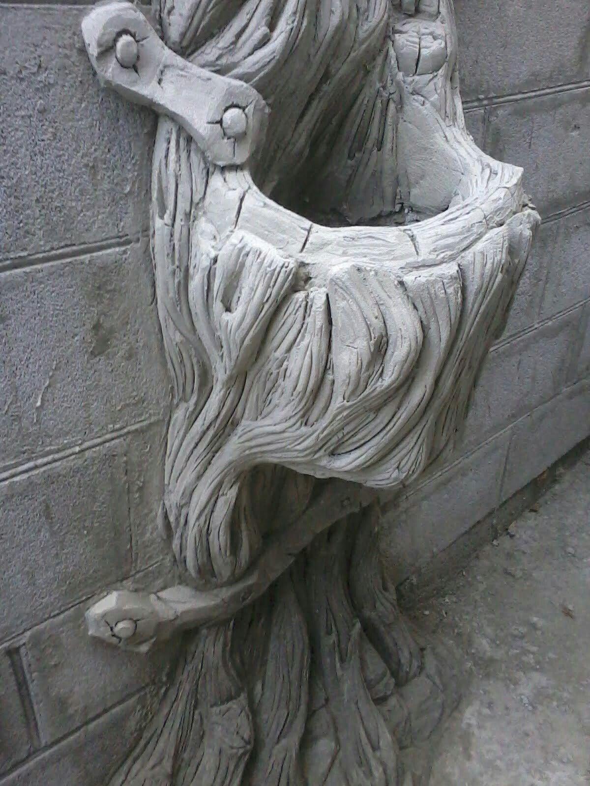 бетон рельеф