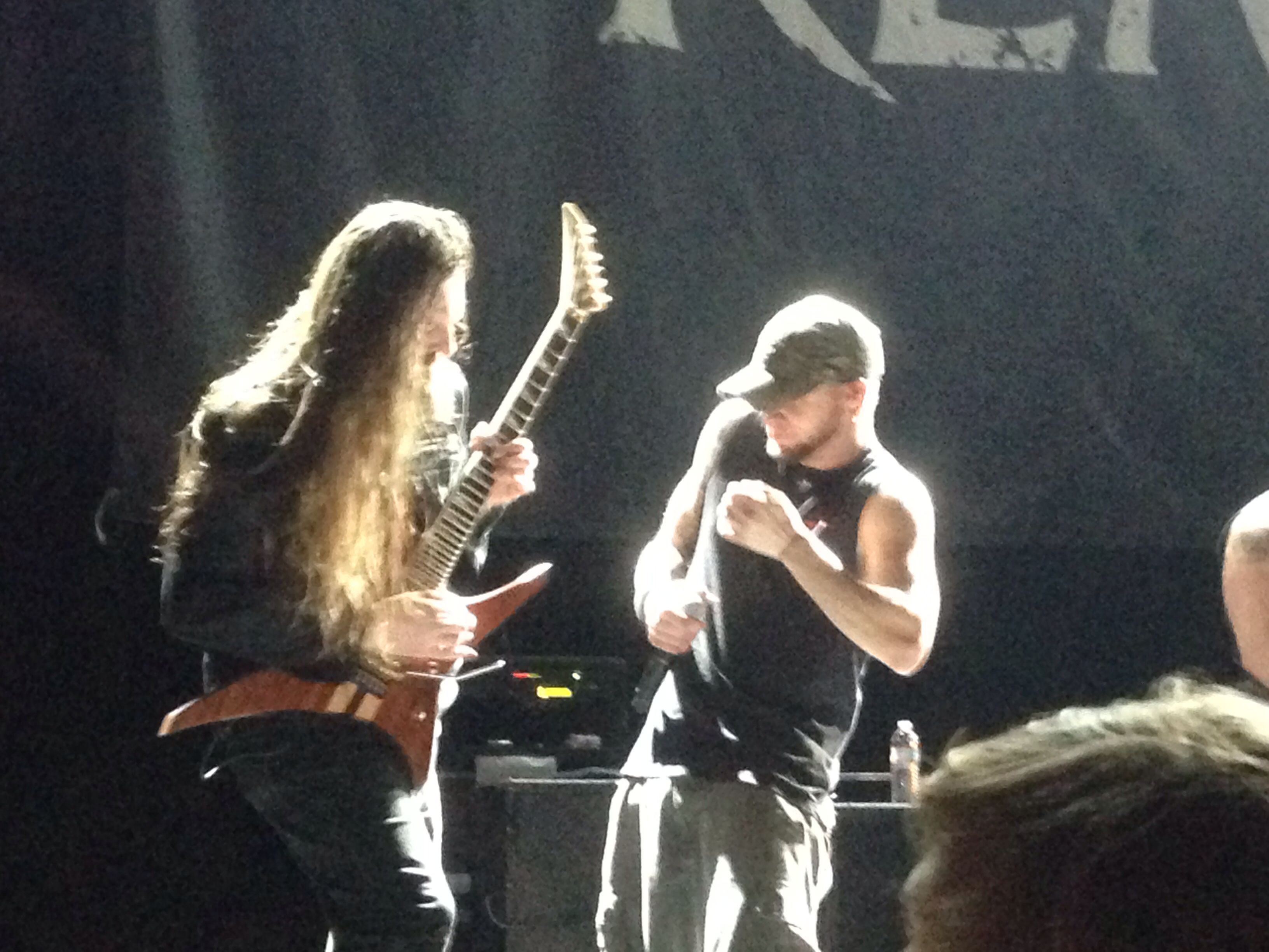 Phil Labonte and Oli Herbert from All That Remains - A Not So Silent Night