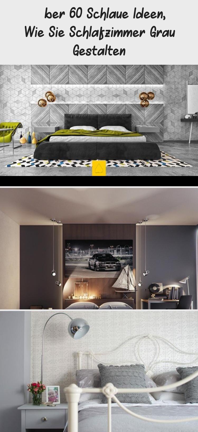Uber 60 Schlaue Ideen Wie Sie Schlafzimmer Grau Gestalten Home