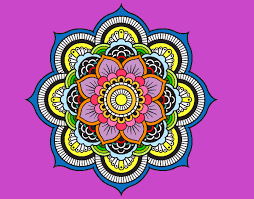 Resultado De Imagen Para Mandalas Pintados Simples Mandalas Pintadas