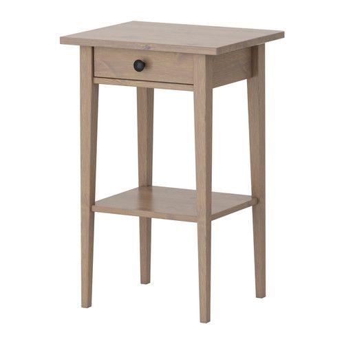 Bedside table ikea. HEMNES Nightstand  black brown   HEMNES  Nightstands and Solid wood