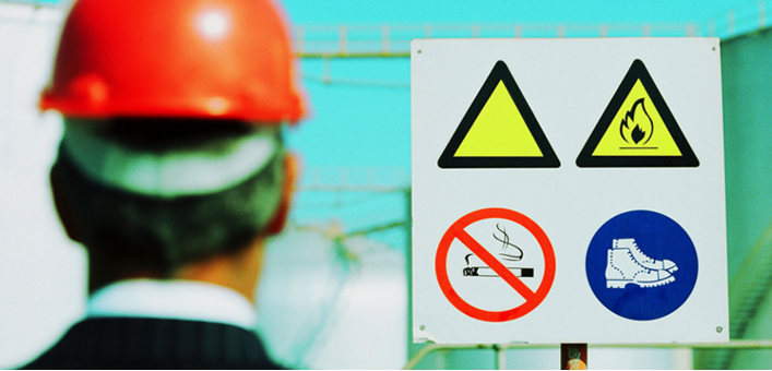 Are you aware of potential hazards in your new environment?  Make sure that you know the company's health and safety information.  This information is usually included in job orientation.  If not, just ask for the information.  Your employers should have a safety policy in order to comply with Occupational Safety and Health Act (OSHA).
