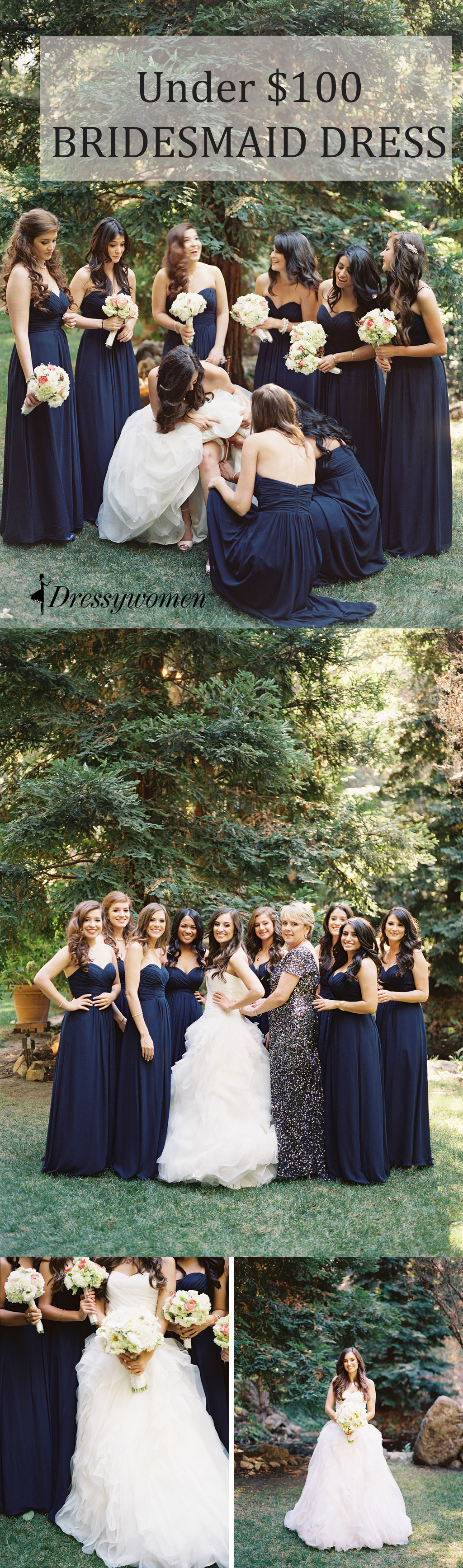 2016 navy strapless long chiffon bridesmaid dresses cheap 2016 navy strapless long chiffon bridesmaid dresses cheap bridesmaid dresses under 100 ombrellifo Image collections