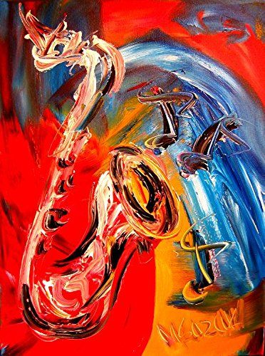 Original Oil Painting Ready to Display Stretched Canvas Landscape Modern Music Instruments Piano Flowers Jazz Hearts Saxophone Abstract Cityscape New York Style Pop Coffee Nude Impressionist Expressionist Guitar Fine Art Gallery Artist Canadian Mark Kazav http://www.amazon.com/dp/B014XDDCZE/ref=cm_sw_r_pi_dp_kkbqwb032EQ2F