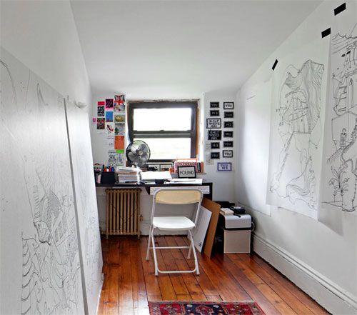 Apartment illustrations