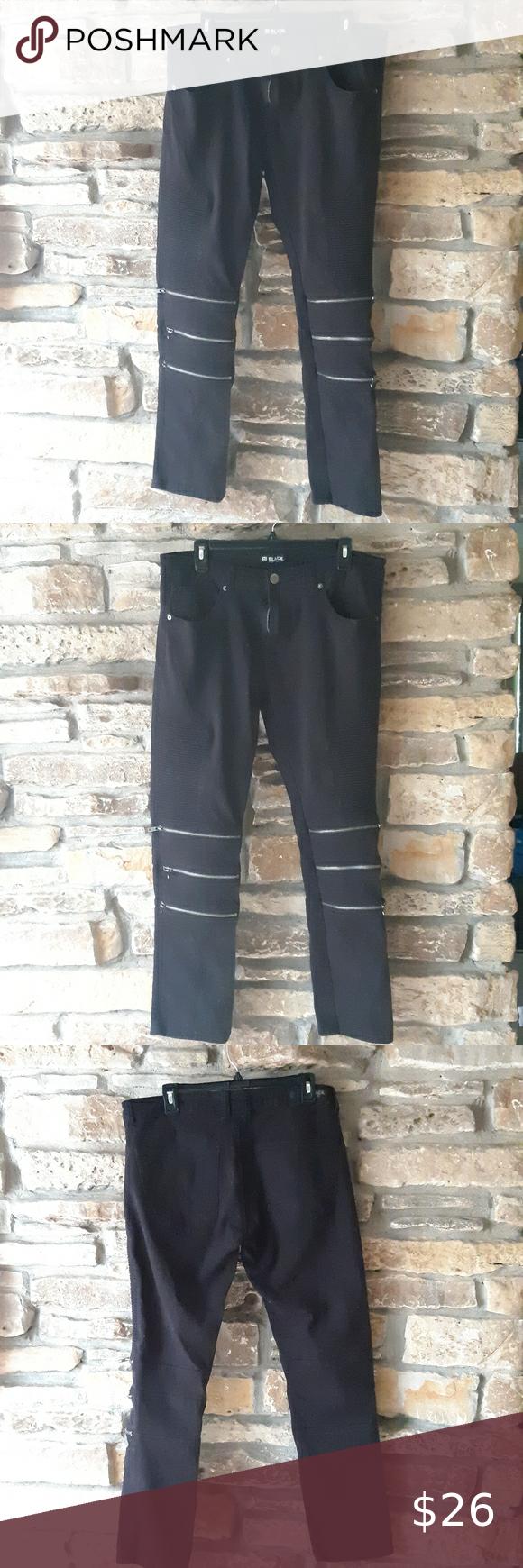 CJ Black Skinny Flex Pants
