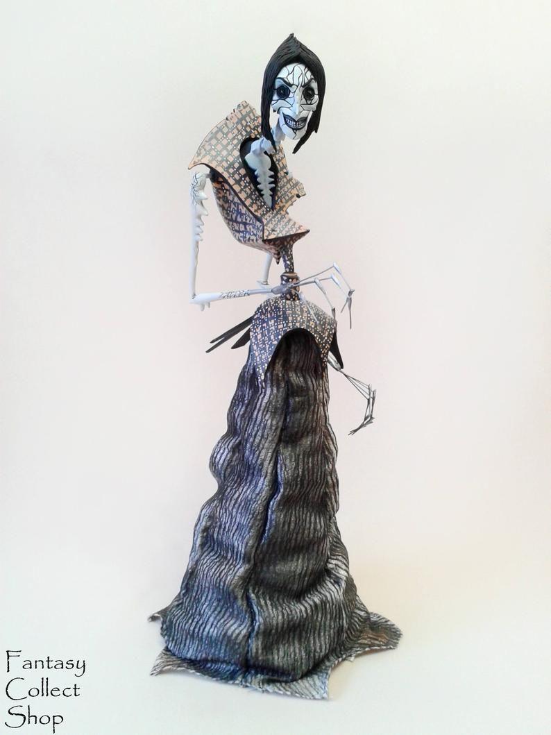 Coraline S Other Mother Spider Form 14 Figurine Etsy Steampunk Dolls Coraline Other Mother Coraline