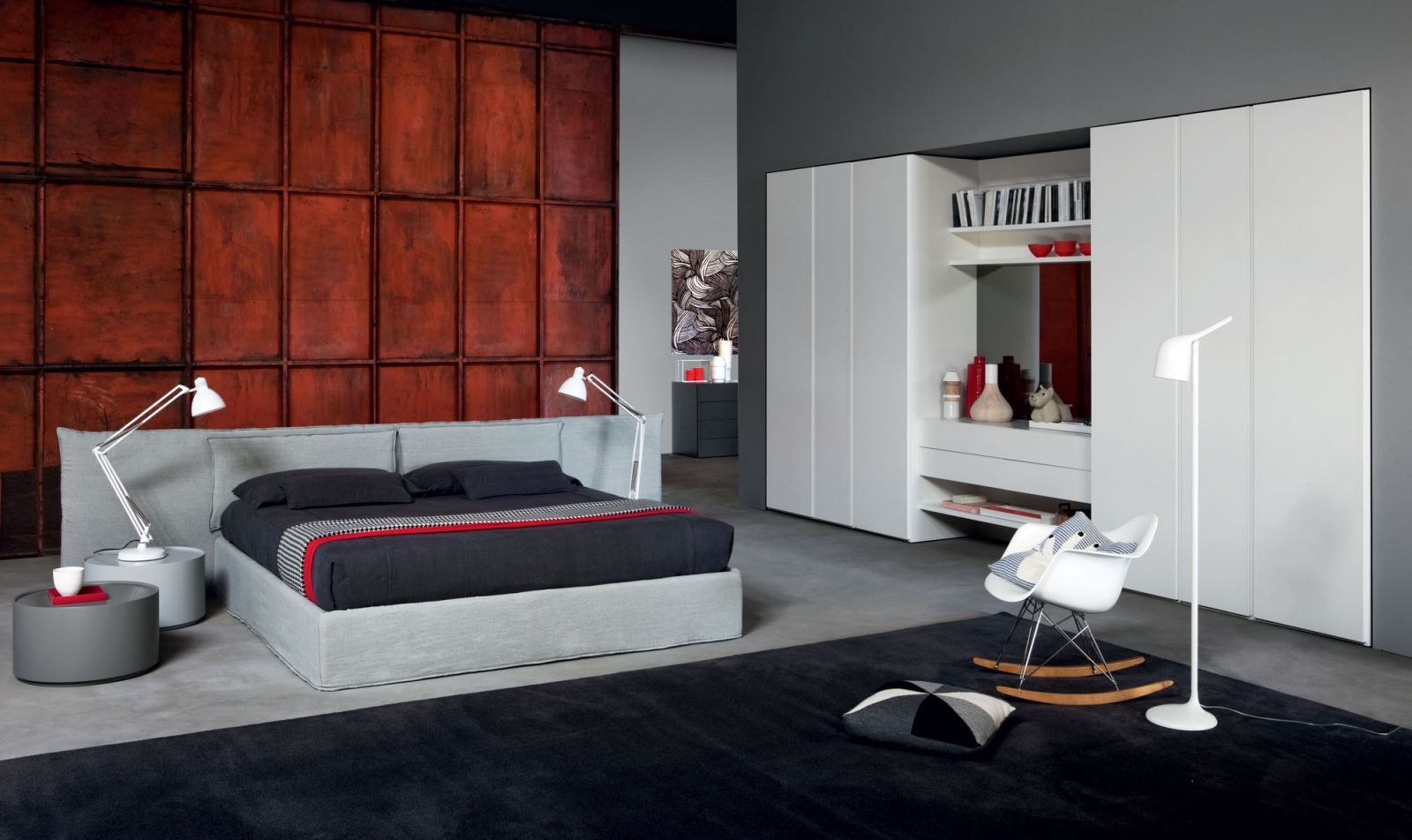 Black Carpet For Bedroom Novamobili Suite Bed Tempo Notte Design Made In Italy Book