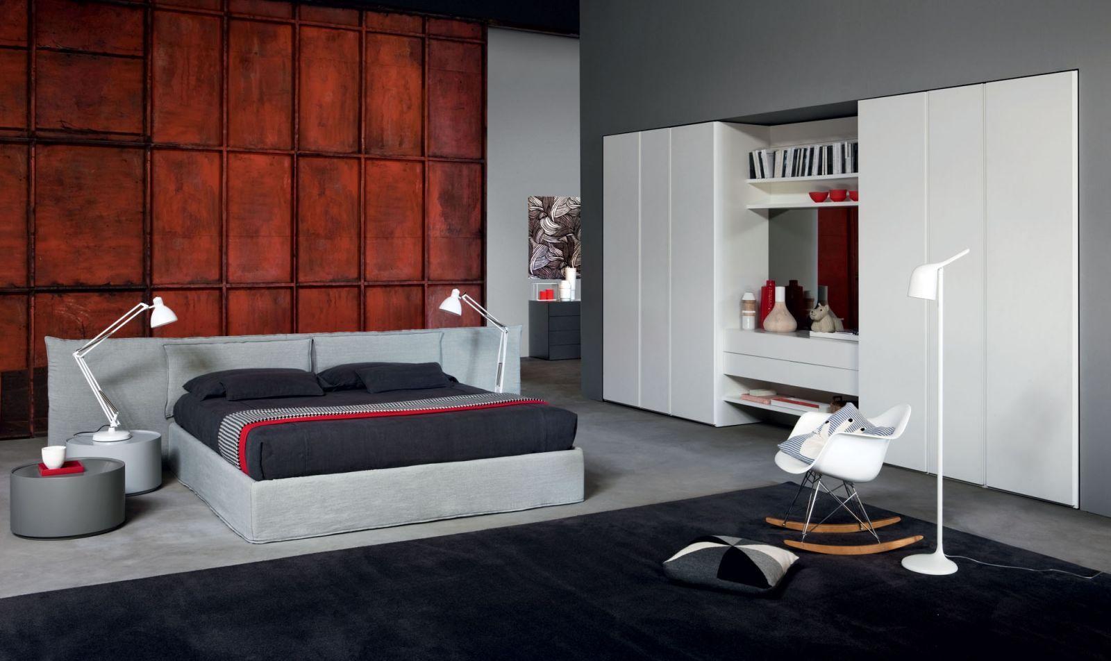 Black Carpet For Bedroom Novamobili Suite Bed Tempo Notte Design Made In Italy Book
