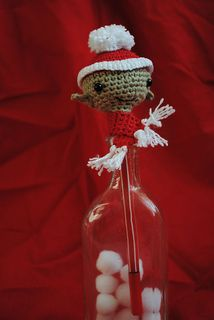 Christmas_pencil_topper Free Pattern