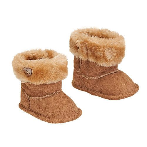 Koala Kids Girls' Faux Suede Boot with Fur