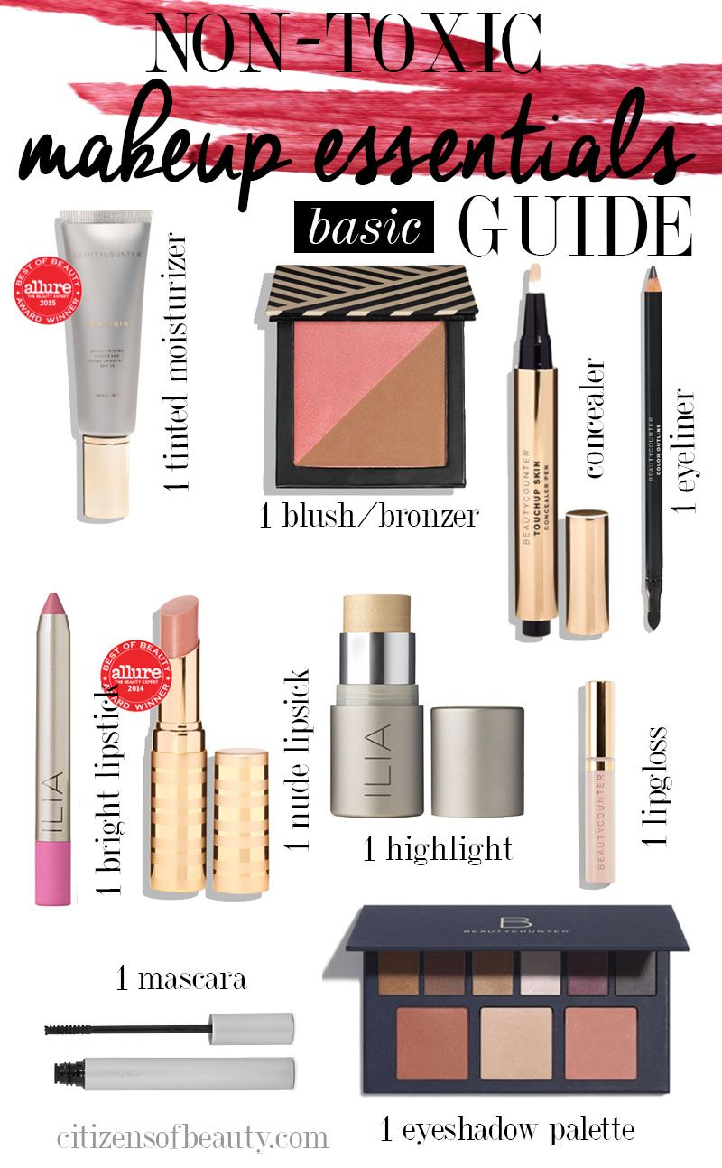 Ultimate NonToxic Makeup Essentials Beauty Guide Non