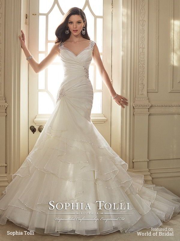 Sophia Tolli Spring 2016 Wedding Dresses Pinterest Bridal Gowns