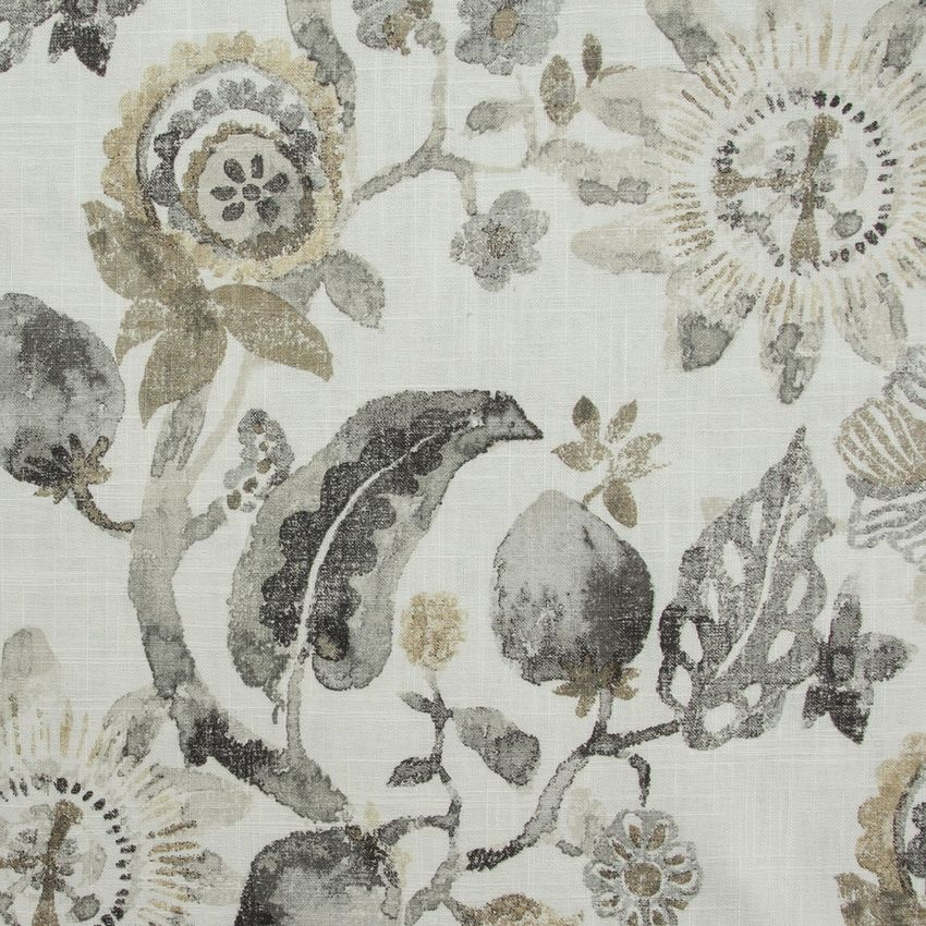 Sand Dune Beige Floral Multi Purpose Upholstery Fabric Floral Upholstery Floral Print Upholstery Upholstery Fabric
