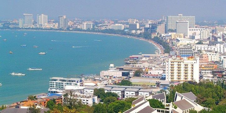 Pattaya City, Central Thailand, Asia